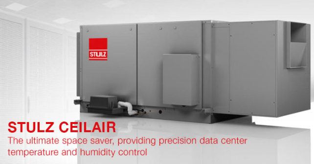 The ultimate space saver, providing precision data center temperature and humidity control